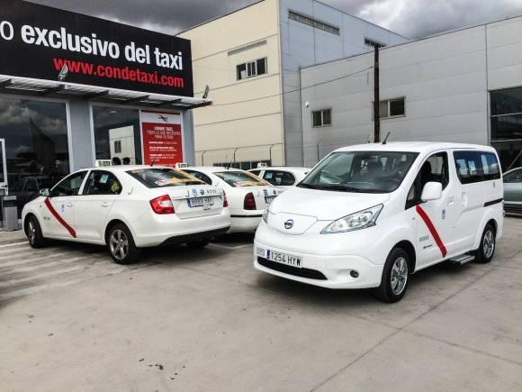 Nissan Leaf, primer coche eléctrico homologado como taxi en la Comunidad de Madrid