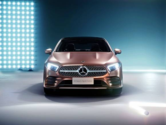 Mercedes Clase A L Berlina, de momento solo para China