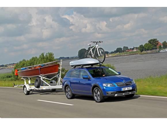 Prueba Skoda Scout: la alternativa SUV para familias aventureras