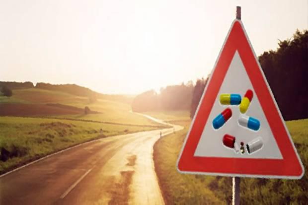 ¿Qué medicamentos no son compatibles con conducir?