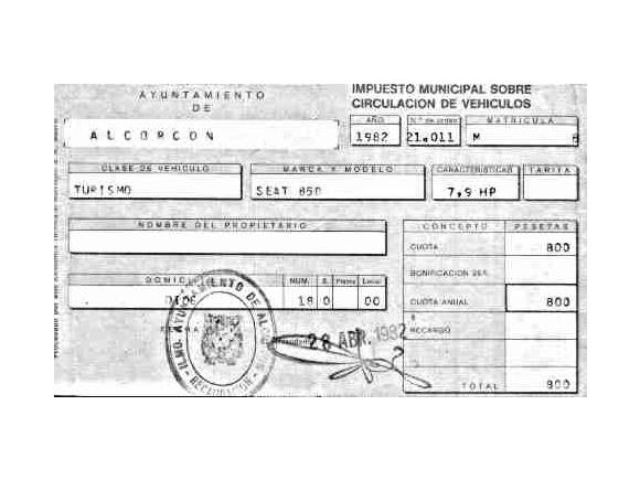 Impuesto de circulación: ¿Qué grava?