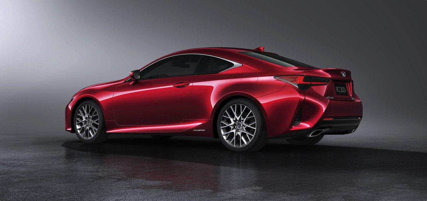 Nuevo Lexus RC 300h 2019 híbrido