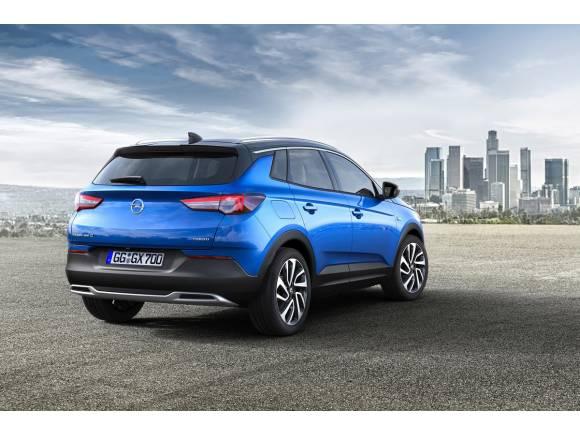 Primeras imágenes y datos del Opel Grandland X