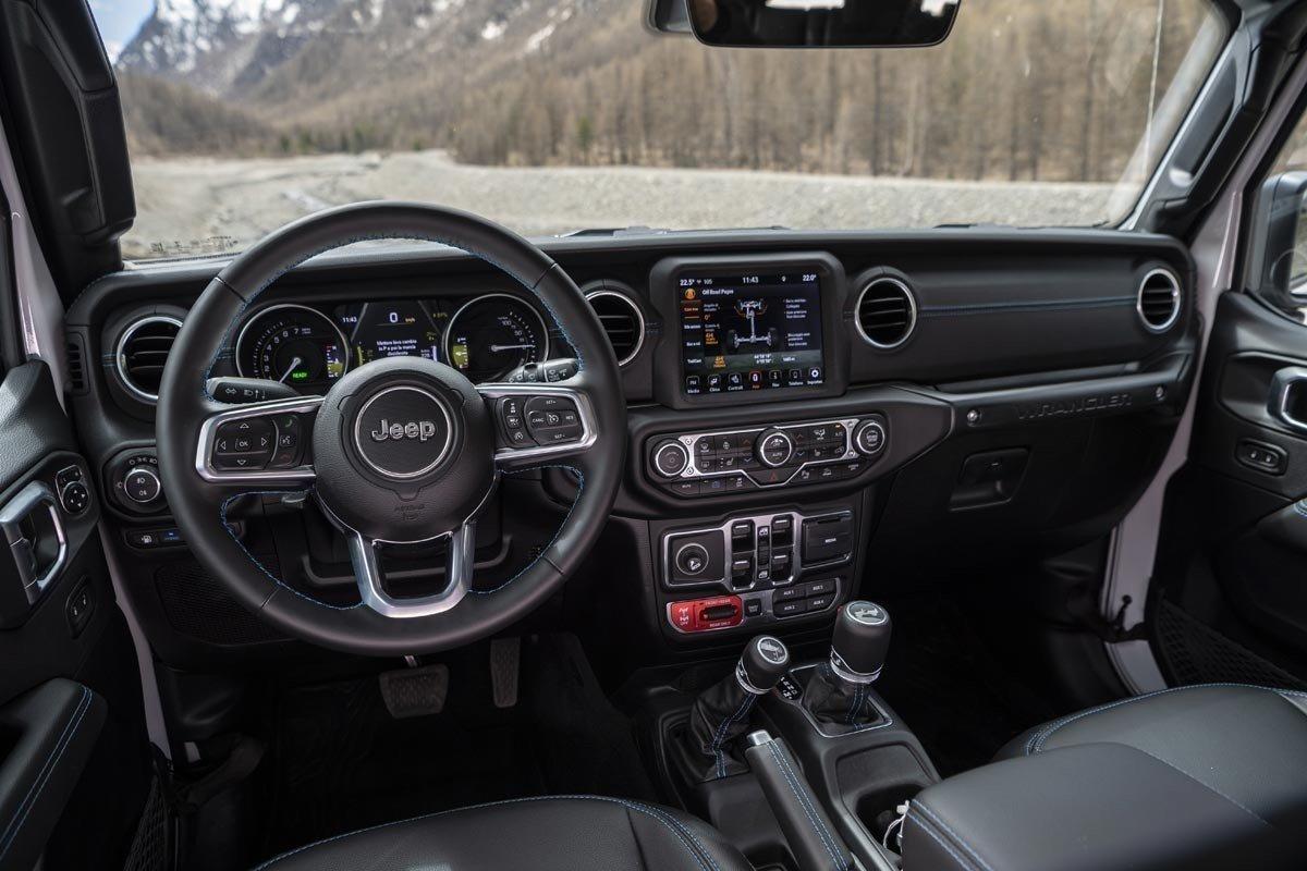 Prueba Jeep Wrangler 4xe