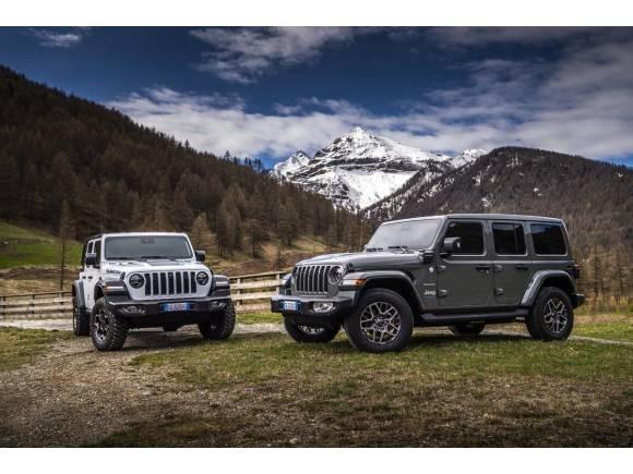 Prueba Jeep Wrangler 4xe: opinión, precios y datos del híbrido enchufable del Wrangler