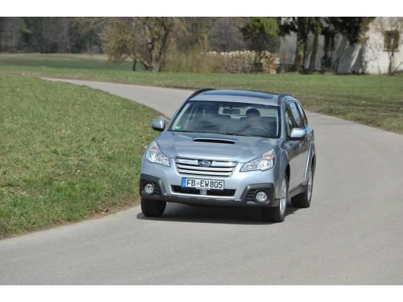 Nuevo Subaru Outback 2013, presentación y prueba