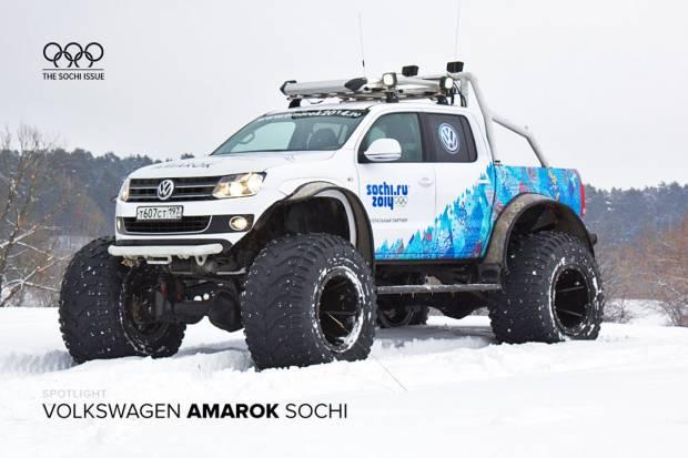 Volkswagen llega a lo grande a los Juegos de Sochi