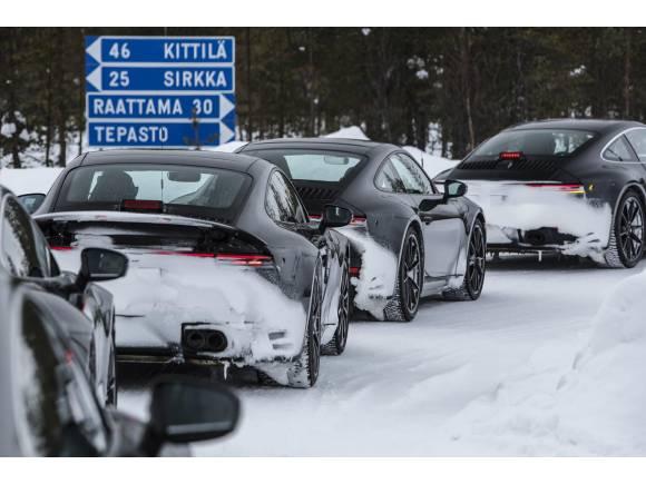 Primeras imágenes del próximo Porsche 911 (992)