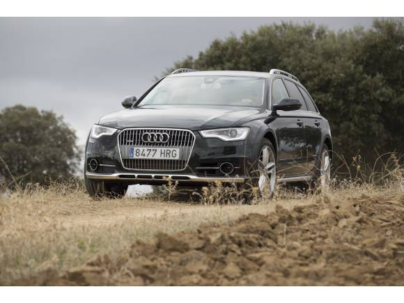 Prueba Audi A6 Allroad 3.0 BiTDI Tiptronic: tren de alta velocidad