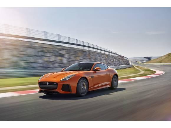 Jaguar F-TYPE SVR Coupé y Cabrio: todo sobre el superdeportivo de Jaguar