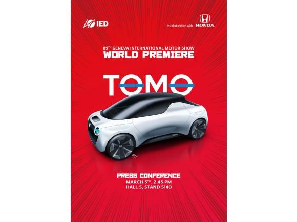Honda Tomo, el prototipo de los estudiantes para el Salón de Ginebra