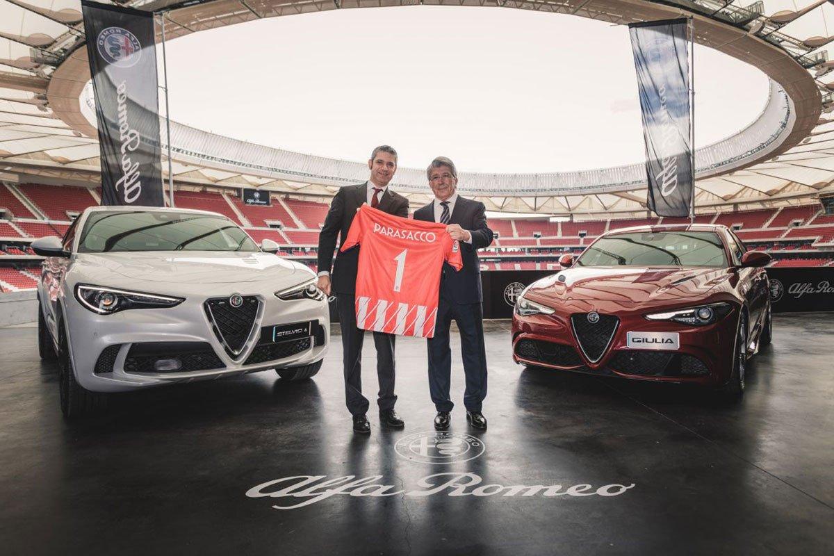 Romeo entrega sus coches al Atlético de Madrid