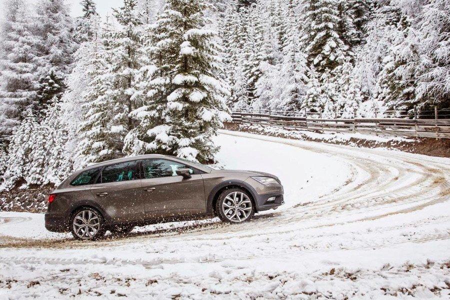 Restricciones conducir con nieve