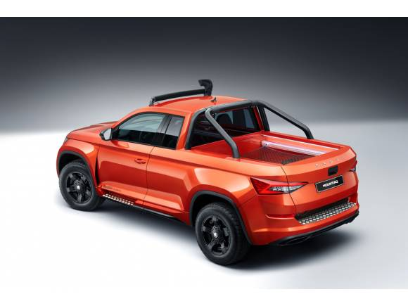 Skoda Mountiaq: ideando un pick-up para Skoda