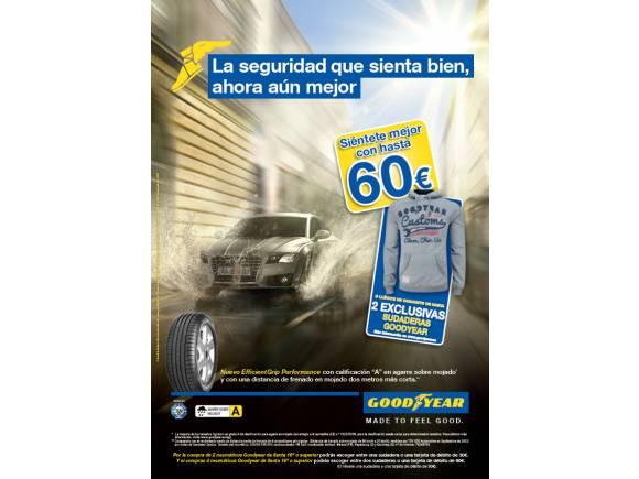 Descuentos de la campaña de cambio de neumáticos de otoño de Goodyear