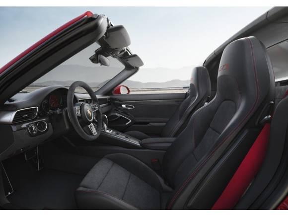 Nuevos Porsche 911 GTS Coupé, Cabrio y Targa: familia completa