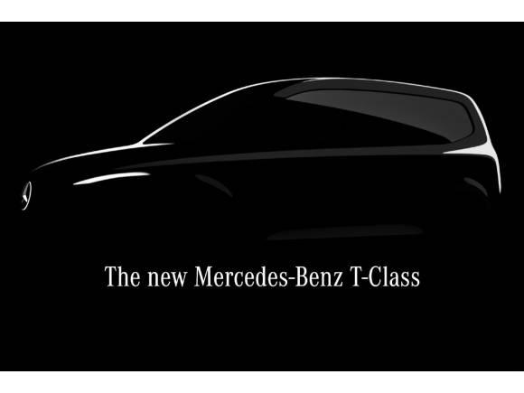 Mercedes Clase T: un pequeño comercial de pasajeros para 2022