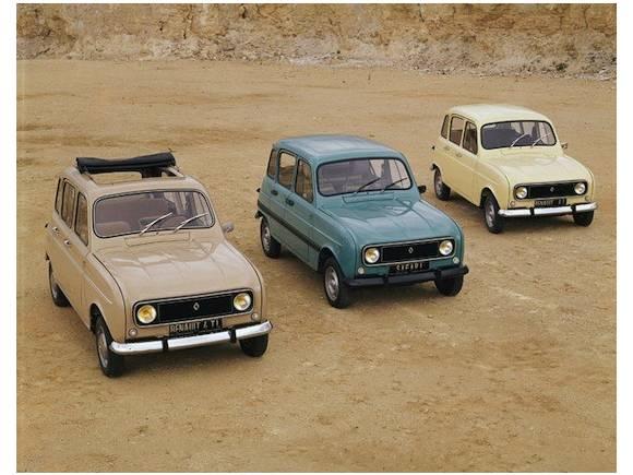 El Renault 4 celebra su cincuenta aniversario