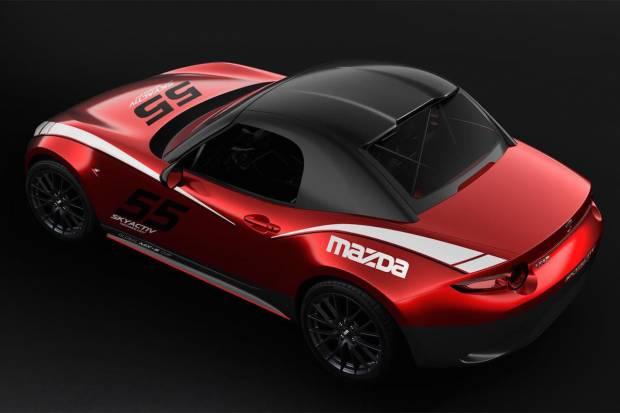 Techo duro desmontable para el Mazda MX-5 de circuitos