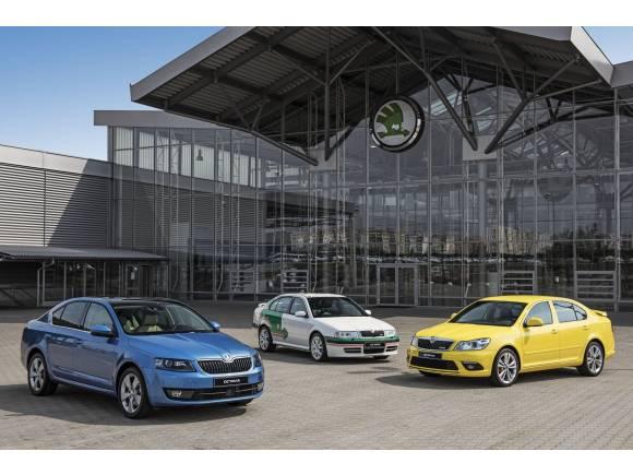 El Skoda Octavia cumple 20 años en el mercado