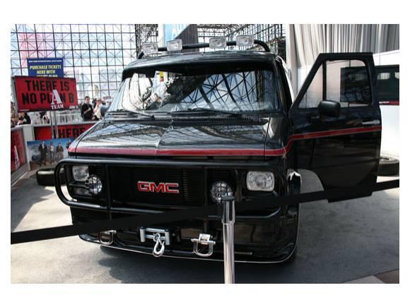 La furgoneta del Equipo A