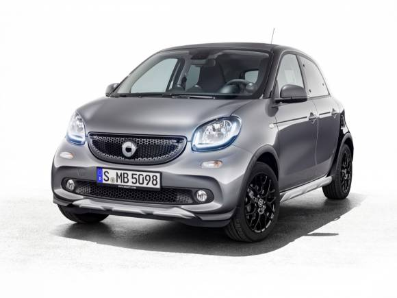 Estilo crossover para el smart forfour crosstown edition desde 3.330 euros