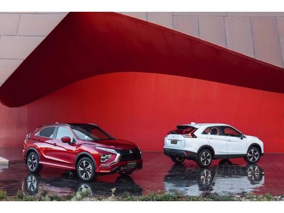 Nuevo Mitsubishi Eclipse Cross: mantiene la esencia y estrena mecánica híbrida
