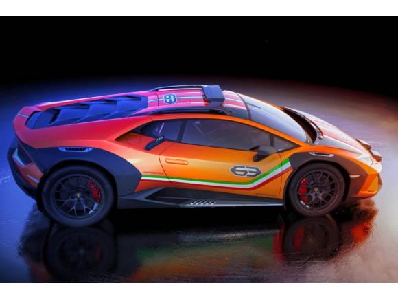 """Lamborghini Huracán Sterrato Concept ¿un futuro """"Lambo"""" crossover?"""
