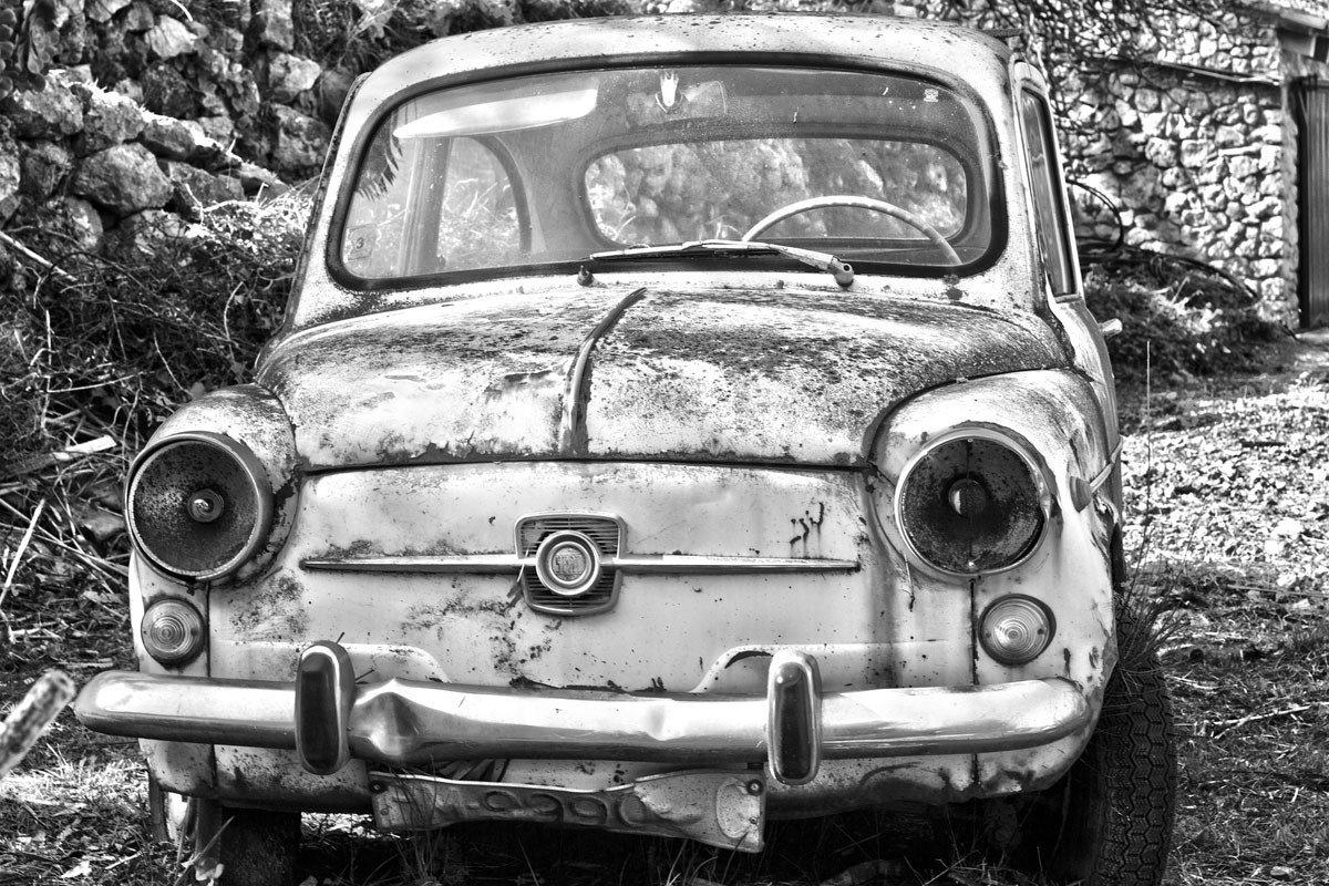 baja temporal coche