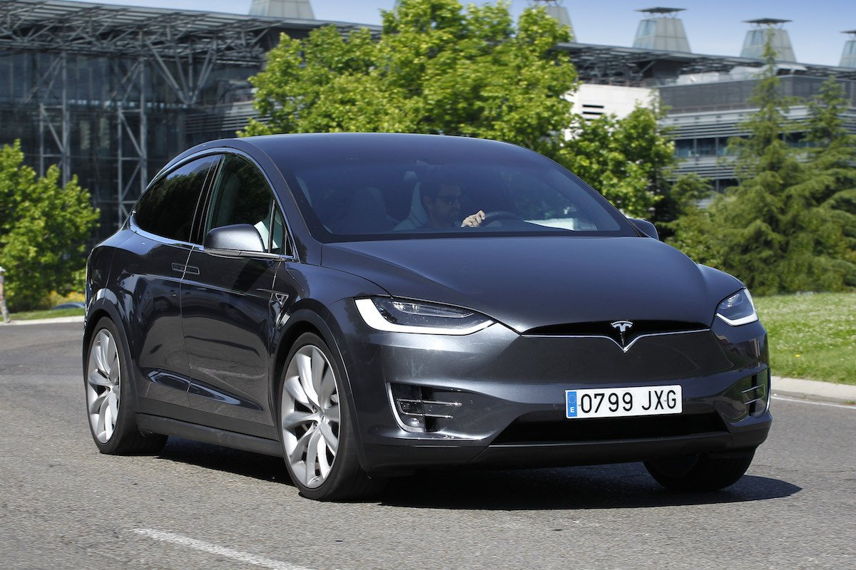 Prueba Tesla Model X P100D
