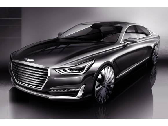 Genesis G90: el primer modelo de la marca de lujo de Hyundai