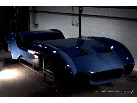 Design-1, el primer coche de Jannarelly Automotive