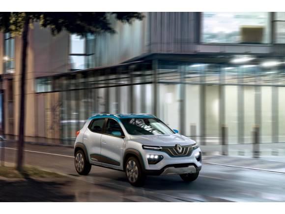 Nuevo Renault K-ZE: SUV, eléctrico y urbano