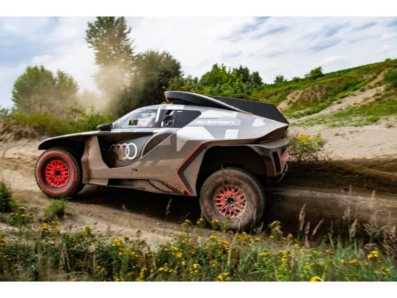 Audi RS Q e-tron: el buggy híbrido con el que Audi quiere ganar el Dakar