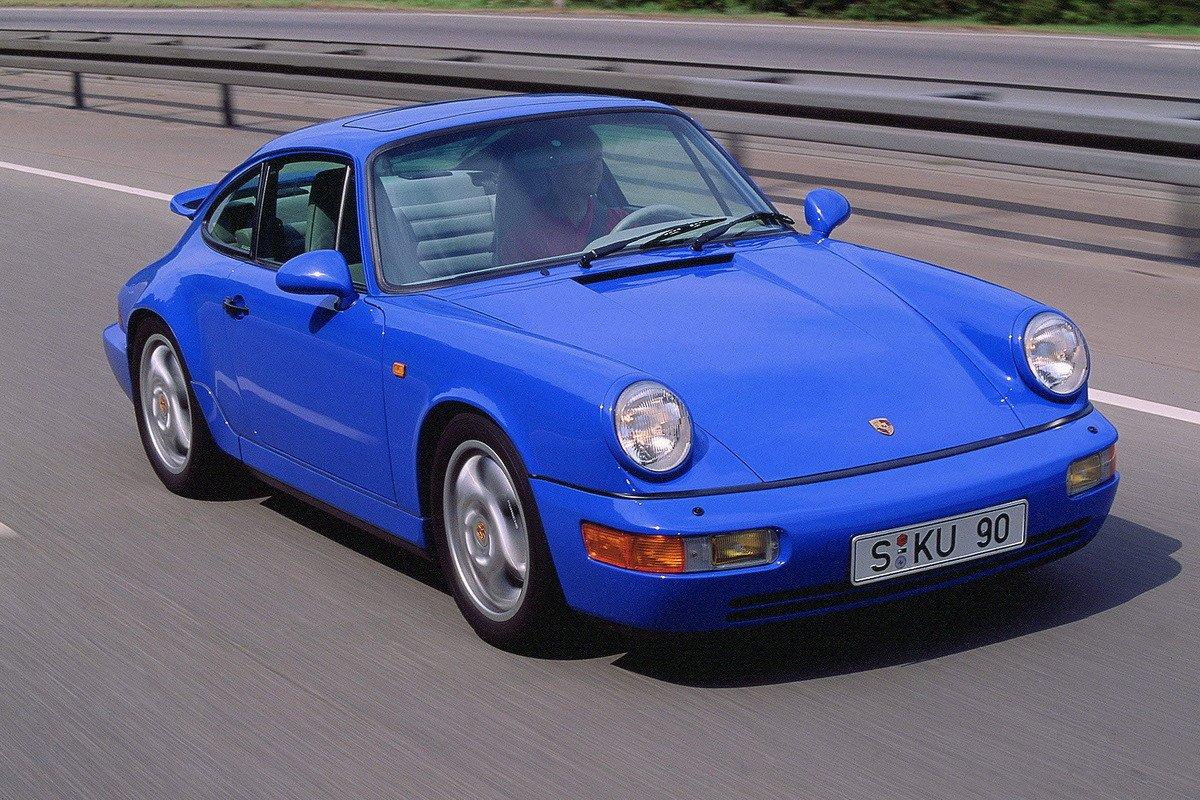 Historia del Porsche 911: tercera generación, Serie 964