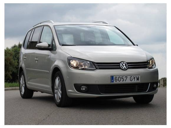 Prueba 10: Volkswagen Touran 1.6 TDI Edition