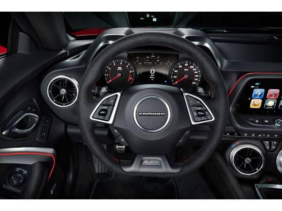 Nuevo Chevrolet Camaro ZL1, con 10 velocidades