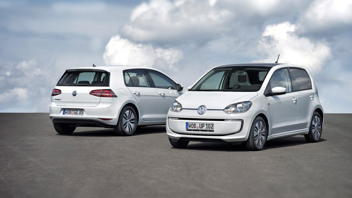 Volkswagen e-Golf y Volkswagen e-up!