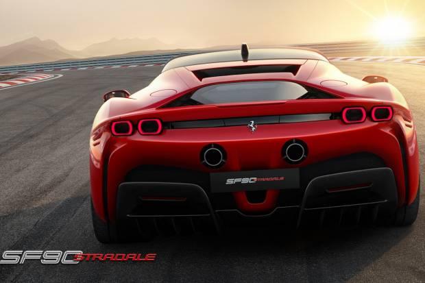Nuevo Ferrari SF90 Stradale, con 1000 CV electrizados