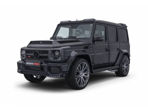 Brabus 900 One of Ten: el Clase G de los 900 CV y los 666.000 euros