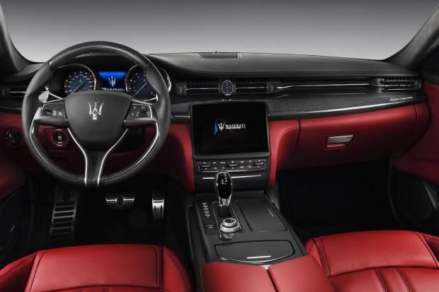 Maserati Quattroporte 2017 Interior