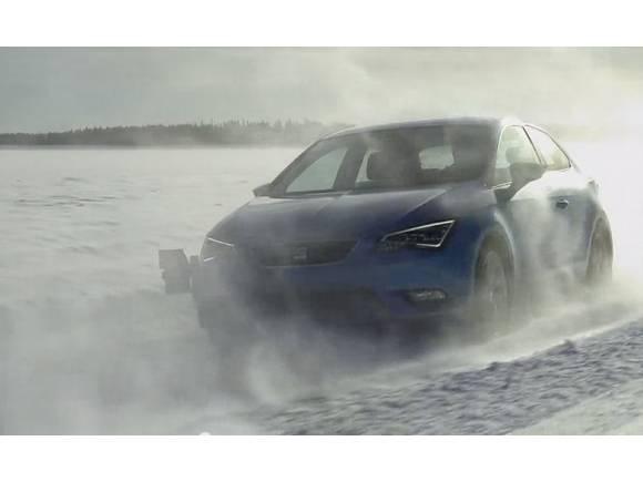 Vídeo de las pruebas del Seat Léon SC en el Ártico