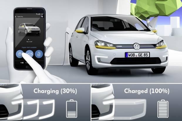 e-Golf Intelligent Charge: nuevo cargador por inducción de Volkswagen