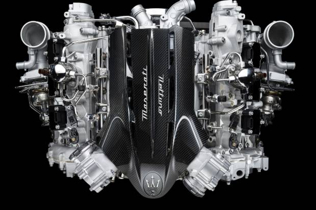 Así es Nettuno: el impresionante motor de 630 CV de Maserati
