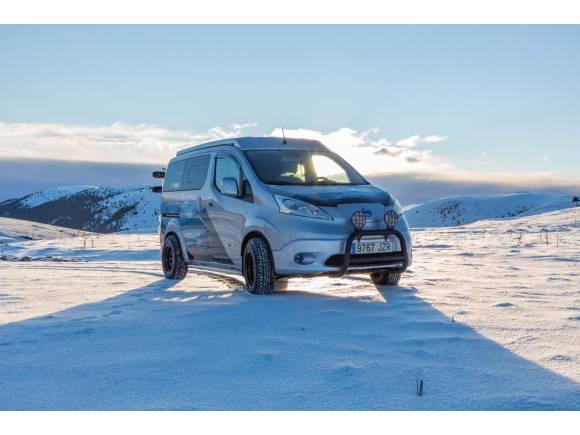 Nissan e-NV200 Winter Camper: para disfrutar de la naturaleza en invierno