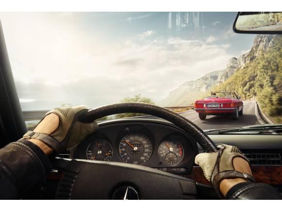Nuevo car sharing con coches vintage de Mercedes