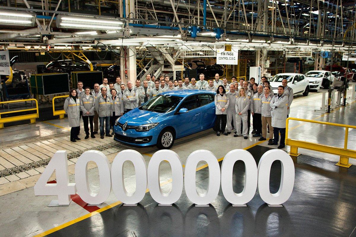 Renault Megane 4 millones