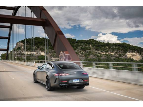Primera prueba del Mercedes-AMG GT 4 puertas, a tiro del Panamera