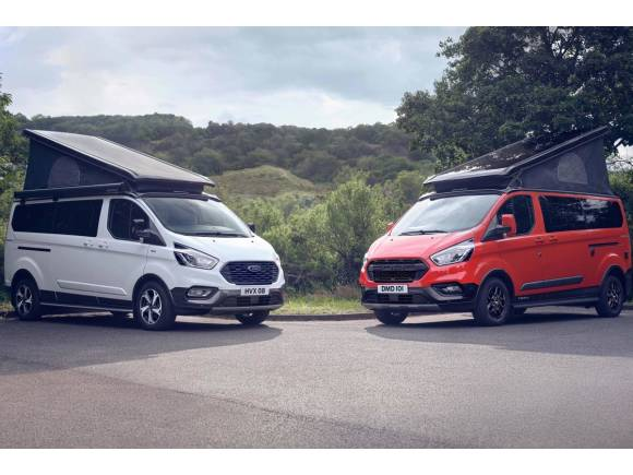 Dos nuevas versiones para la Ford Transit Custom Nugget: Active y Trail