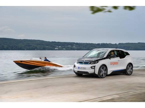Las baterías del BMW i3 también se usan en el agua